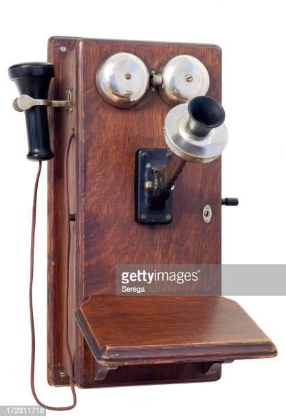 Vieux téléphone style