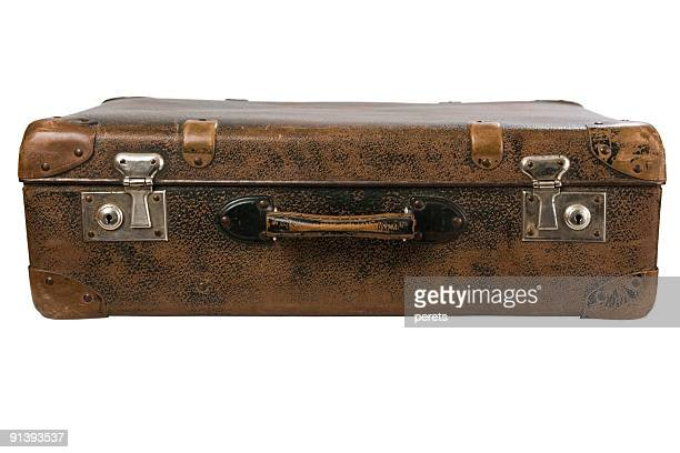 old suitcase - handle stock pictures, royalty-free photos & images