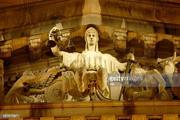 old supreme court of singapore - sword in the stone stock photos and pictures