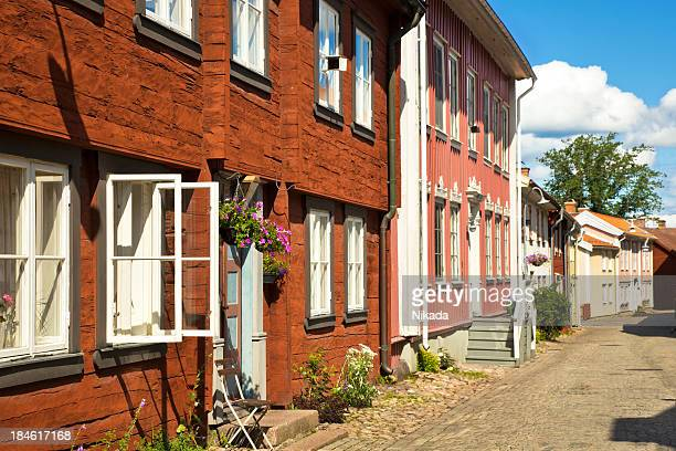 old swedish wooden houses
