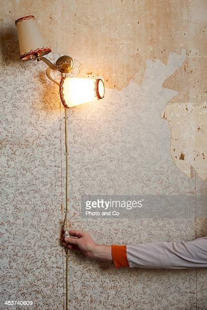 old tapestry and light a lamp old - former stock pictures, royalty-free photos & images
