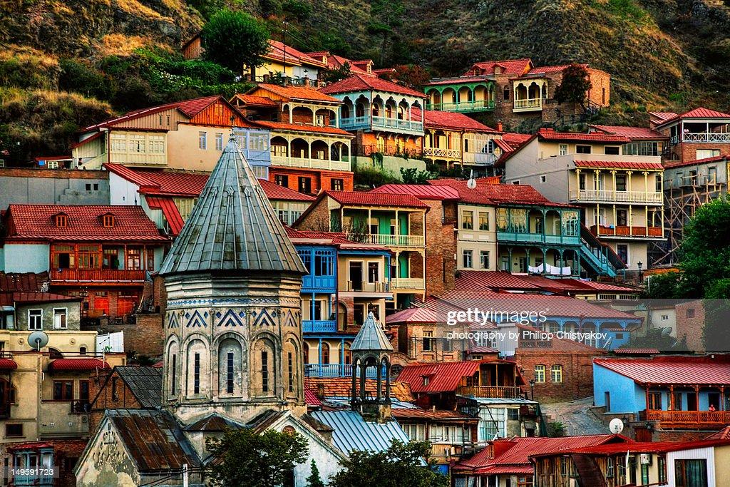 Old Tbilisi : Stock Photo