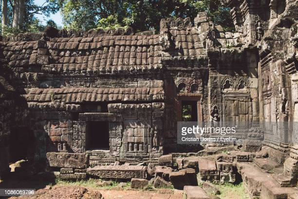 old temple in sunny day - bortes stock pictures, royalty-free photos & images