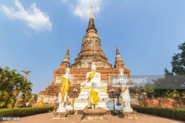 Old Temple Wat Yai Chai Mongkhon