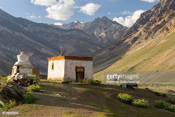 Old Tibetan house at Rangdum village, Zanskar valley