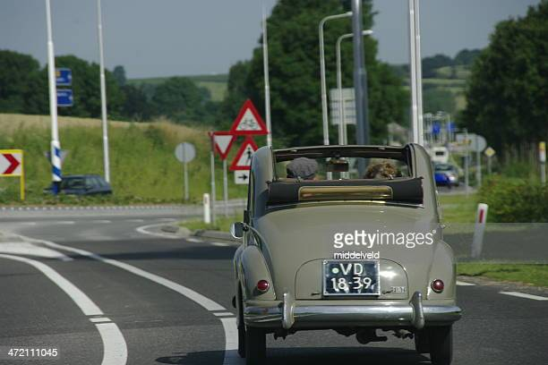 Old timer on the road