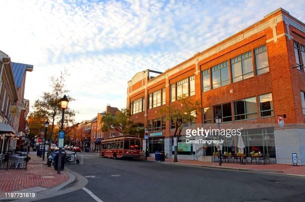 オールドタウン アレクサンドリア (バージニア州) - バージニア州 アレクサンドリア ストックフォトと画像