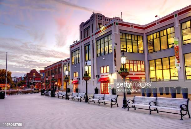 オールド タウン アレクサンドリア ウォーターフロント - バージニア州 アレクサンドリア ストックフォトと画像