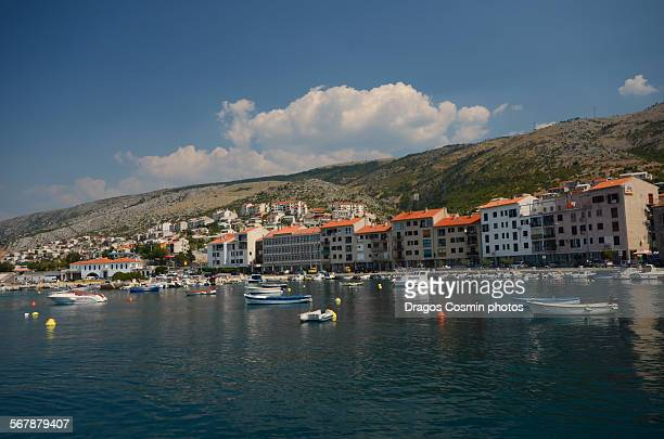 Old town and harbor near the Adriatic sea, Senj