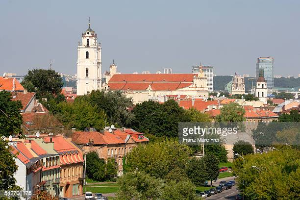 Old town and university, Wilna