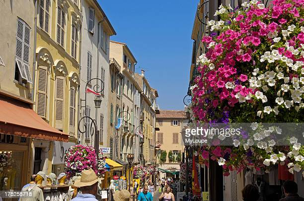 Old town Antibes Provence_Alpes_Cote dAzur French Riviera France Europe
