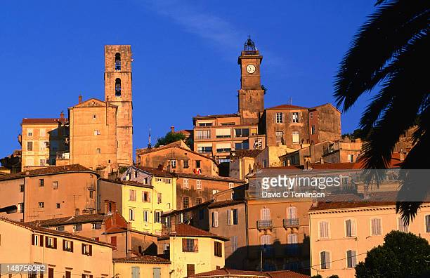 Old town at sunrise (French perfume capital), Alpes-Maritimes region.