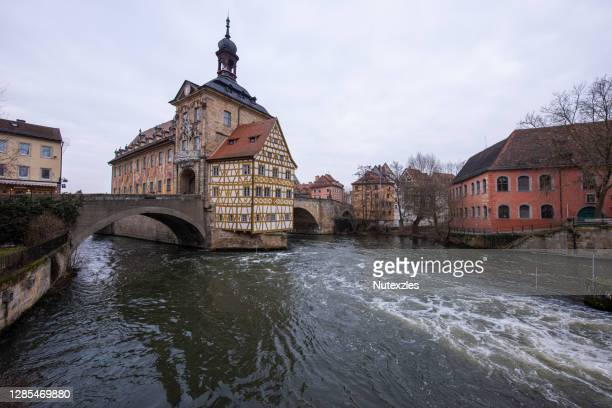 old town bamberg in bavaria - bavaria stock pictures, royalty-free photos & images