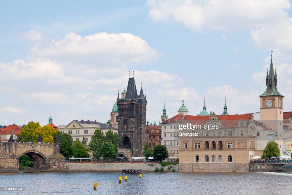 Old Town Bridge Tower in Prague : Stock Photo
