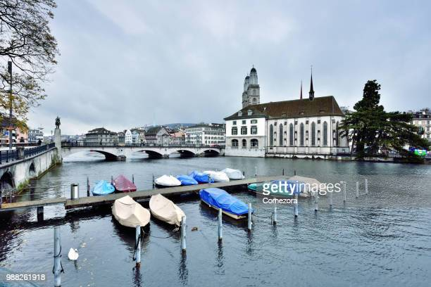 Old Town Cityscape, Zurich, Switzerland