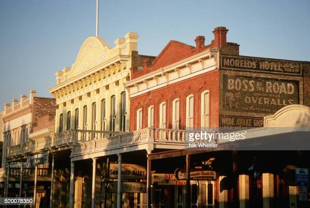 old town district of sacramento - historic district stock pictures, royalty-free photos & images