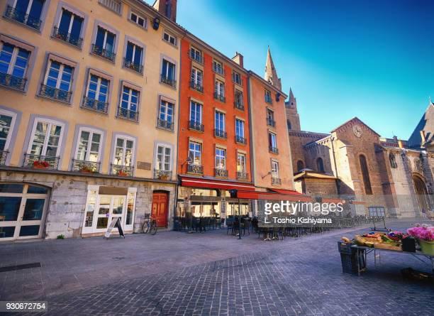 old town grenoble, france - グルノーブル ストックフォトと画像