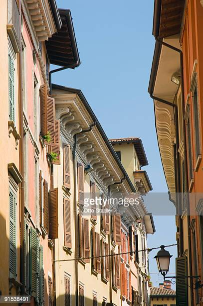 Old Town houses, Salo, Lake Garda, Italy