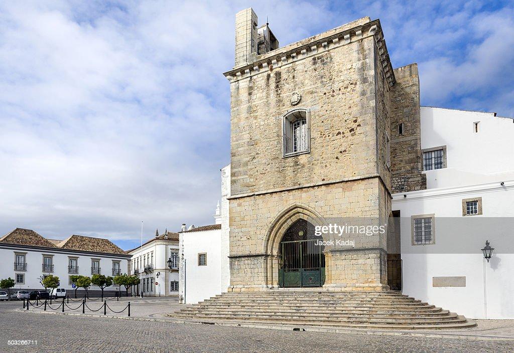 Old town in Faro : Stock Photo