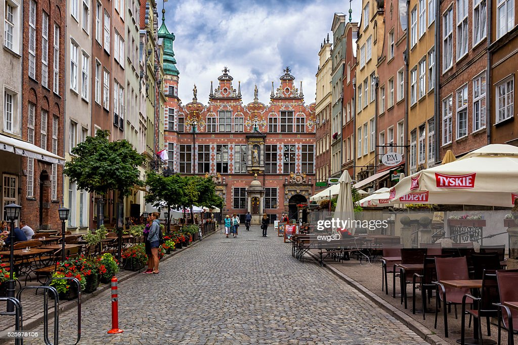Old Town in Gdansk, Poland : Stock Photo