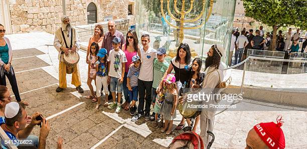 Old Town, Jewish Quarter, Jewish family during the Bar Mitzvah