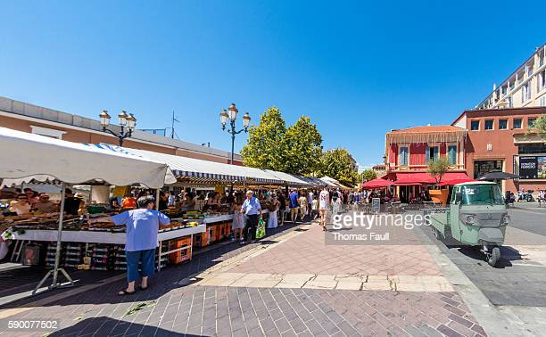 Old Town Market in Nice, France