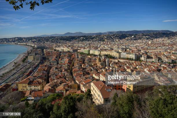 old town, nice, france - france stock pictures, royalty-free photos & images