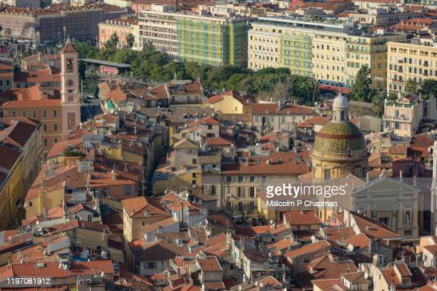 old town, nice, france - nice france stock pictures, royalty-free photos & images