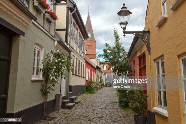 old town of aalborg - aalborg stock pictures, royalty-free photos & images
