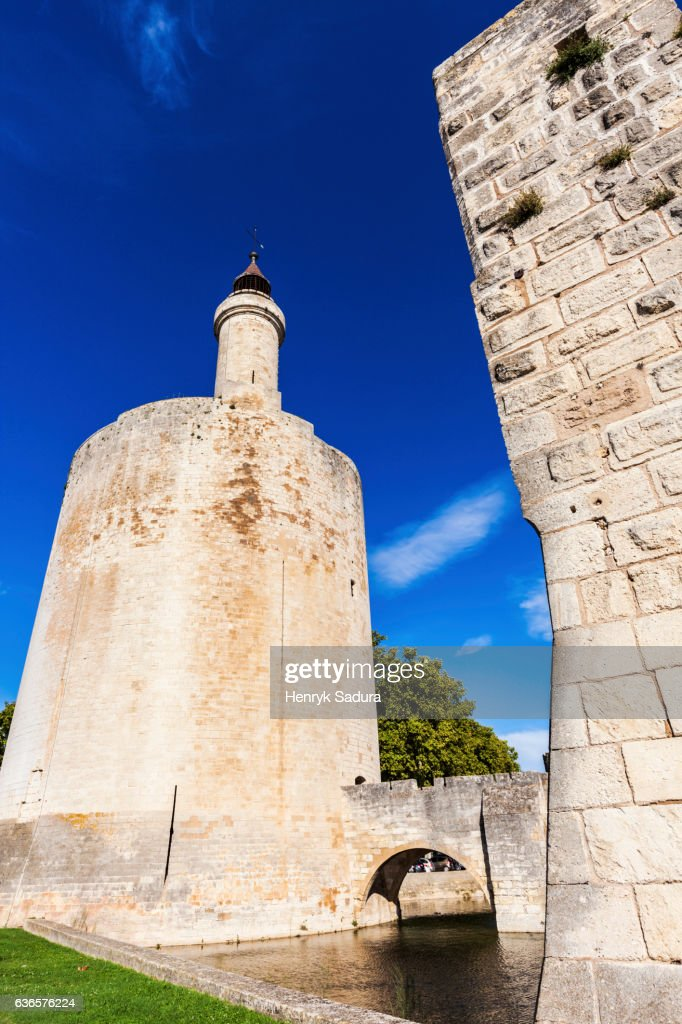 Old Town Of Aiguesmortes Stock Photo Getty Images
