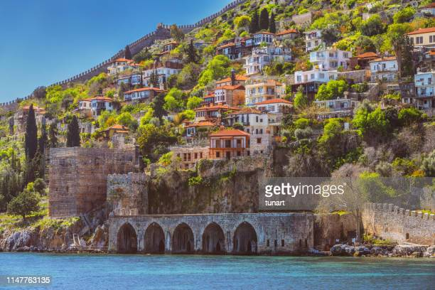 Old Town of Alanya View From Sea