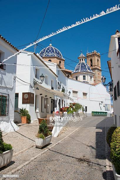 Old town of Altea, Alicante, Costa Blanca, Spain