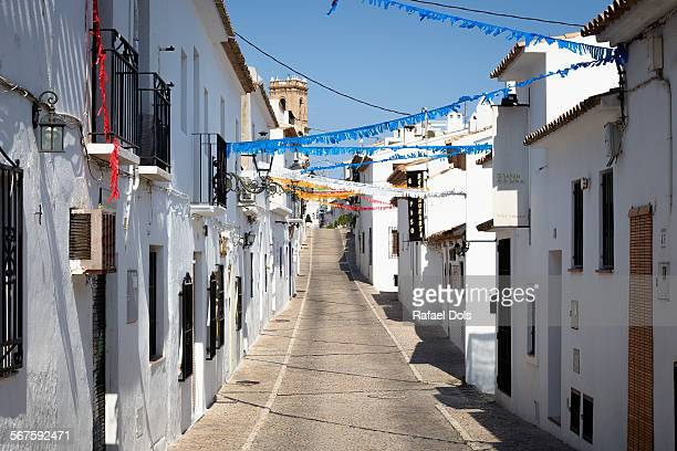 Old town of Altea, Alicante, Costa Blanca, Spain
