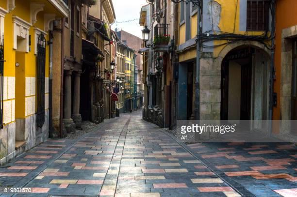 Old town of Avilés, Asturias, Spain
