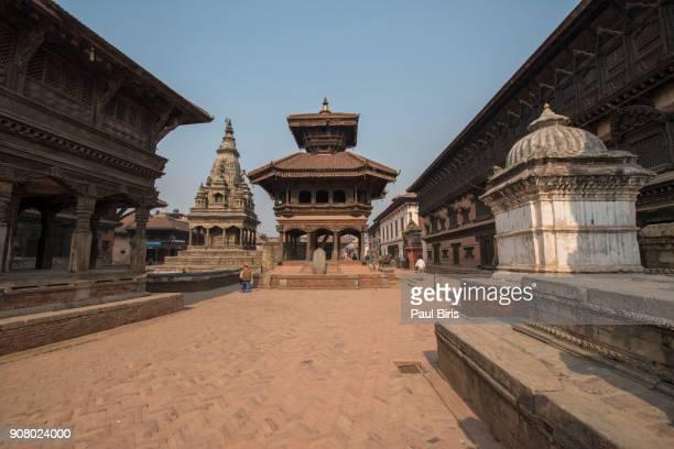 Old town of Bhaktapur, UNESCO World Heritage, near Kathmandu in Nepal