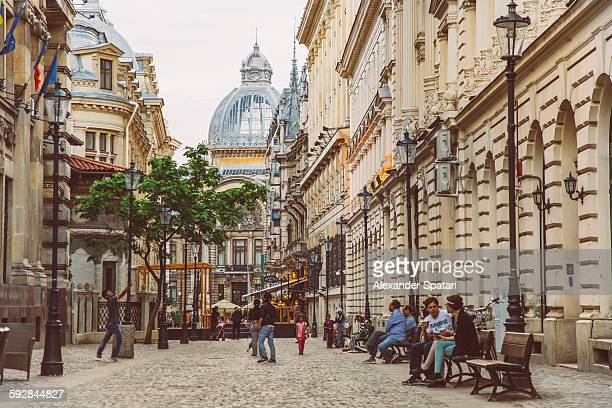 Old town of Bucharest, Romania