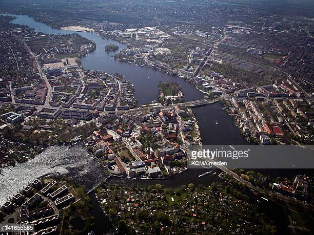 old town of köpenick - köpenick stock pictures, royalty-free photos & images