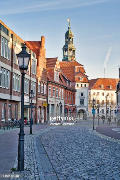 old town of lüneburg, germany - lüneburg stock pictures, royalty-free photos & images