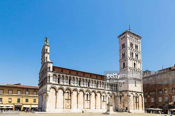 Old town of Lucca in Tuscany, Italy