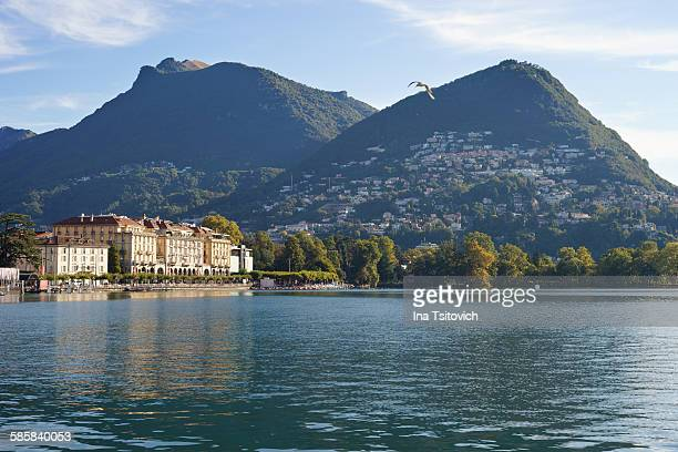 Old town of Lugano, Switzerland