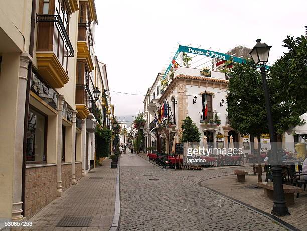 Old town of Marbella city