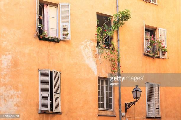 La vieille ville de Nice, France, la Riviera française
