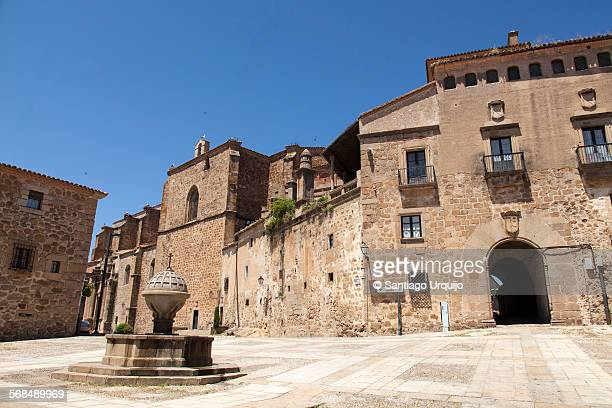 Old town of Plasencia