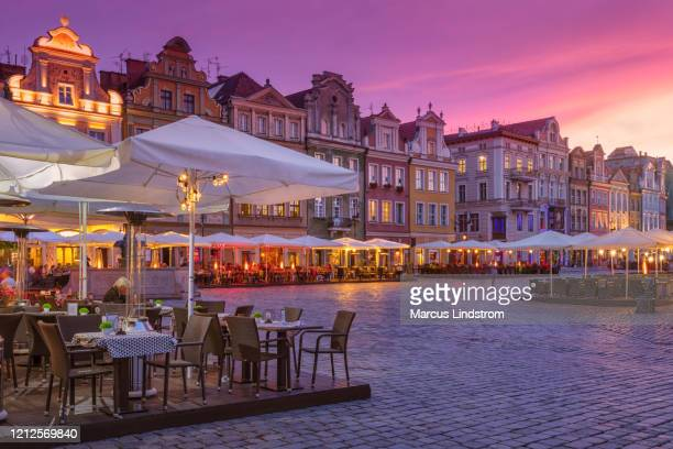 old town of poznan, poland - poland stock pictures, royalty-free photos & images