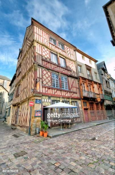 Old Town of Rennes, France