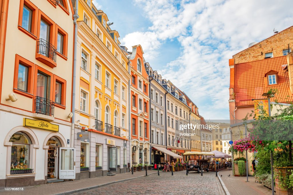 Old town of Riga, Latvia : Stock Photo