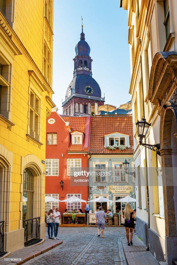 Old town of Riga, Latvia : Stock Photo