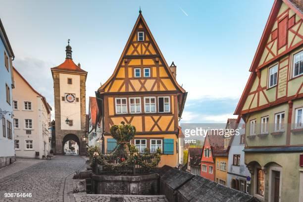 Old Town of Rothenburg ob der Tauber, Germany