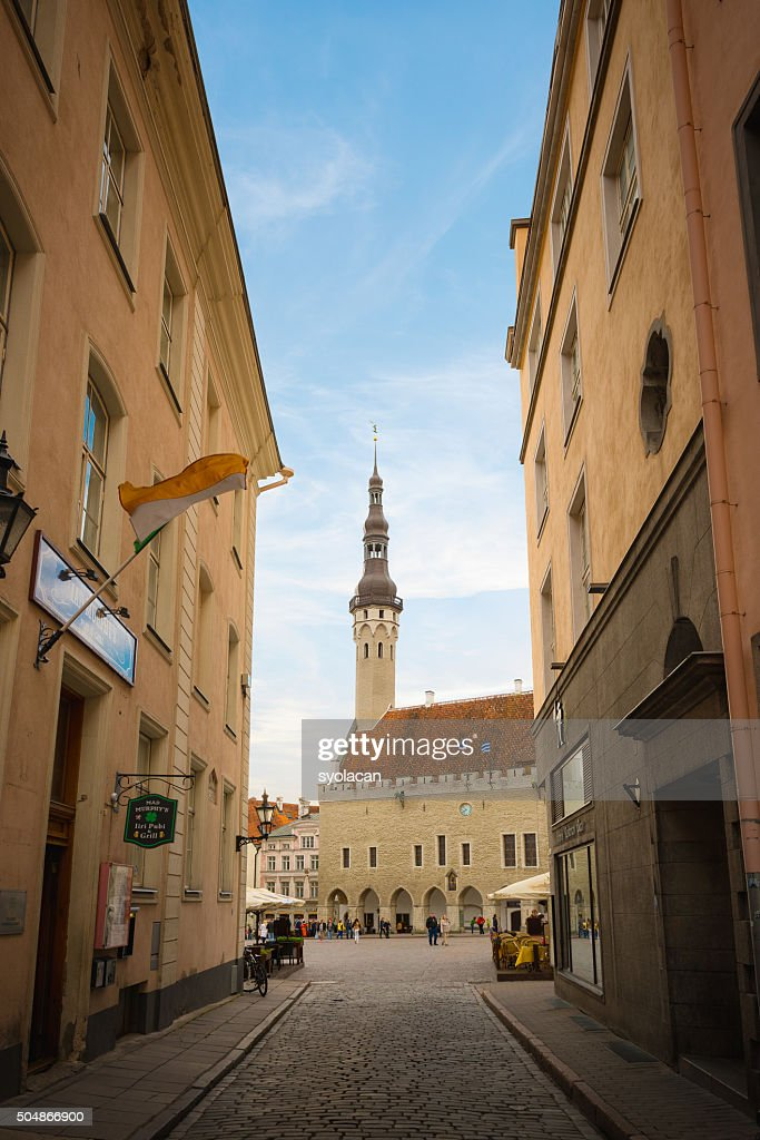 Old town of Tallinn, Estonia : Stock Photo