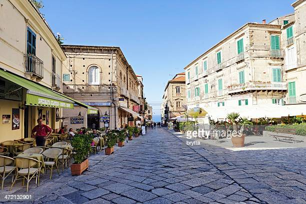 old town of tropea - calabria stock pictures, royalty-free photos & images